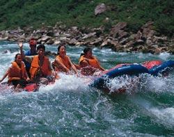 茅岩河漂流图片
