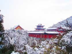 天门山寺图片