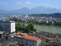 张家界城区图片